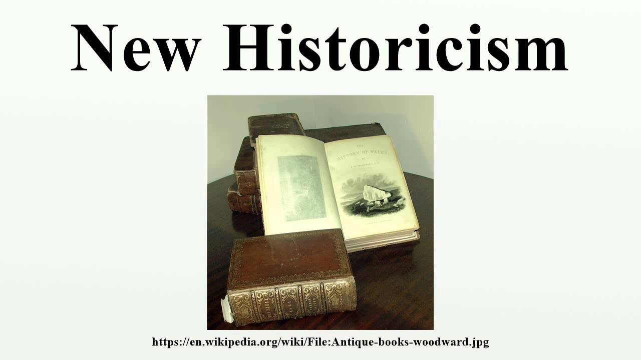 new historicism is a literary theory New historicism assumes that every work is a product of the new historicism/cultural studies (1980s-present) an introduction to literary and cultural theory.