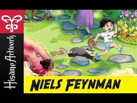 Coloring Easter | Comic: Niels Feynman | Speed painting | Wacom | Clip Studio Paint Photoshop