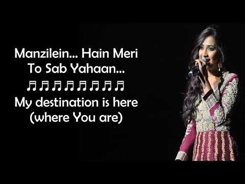 Kabhi Jo Baadal Barse Female Version Lyrics With English TranslationYouTube