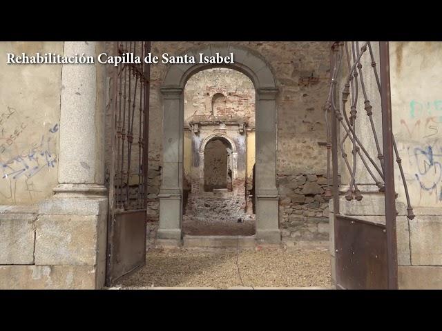 #APieDeObra Rehabilitación Capilla Santa Isabel