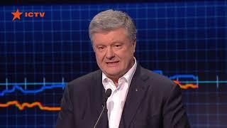 Петр Порошенко: Первый тур дал мне болезненный и мотивирующий урок, спасибо вам