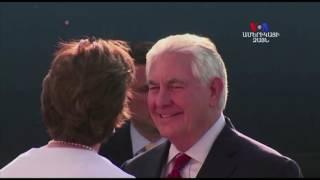 Մեքսիկայի նախագահի և ԱՄՆ ի պաշտոնյաների հանդիպումը
