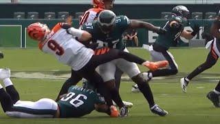 Joe Burrow Gets Destroyed by Malik Jackson | NFL Week 3