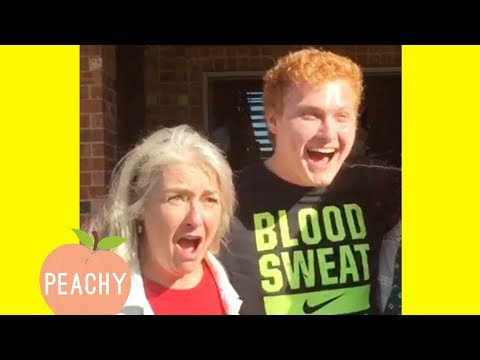 Amazing Ways To Tell Your Family 'I'm Expecting!' | Funny Pregnancy Announcements
