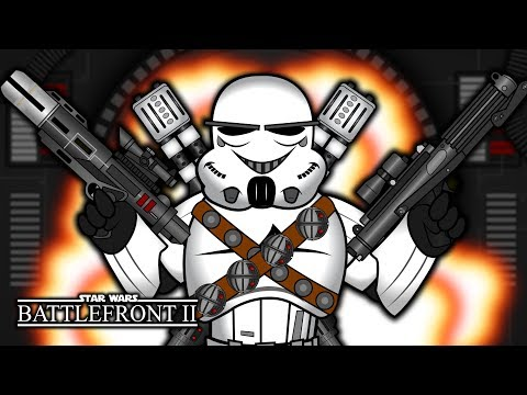 Epic Stormtrooper OVERKILL! (Star Wars: Battlefront II) thumbnail