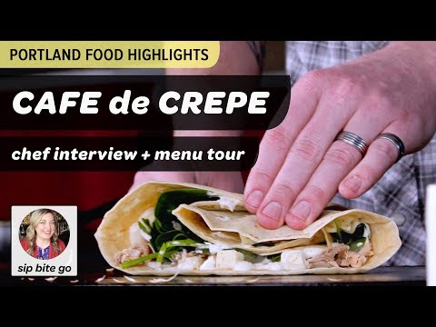Cafe de Crepe Food Truck in Portland, OR  - Where to eat in PDX