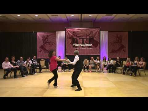 Ben Morris & Nina Gilkenson - 1st Place 2013 Boston Tea Party Invitational Crossover Jack and Jill