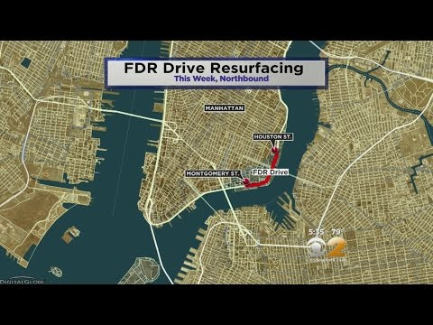 FDR Set To Be Repaved