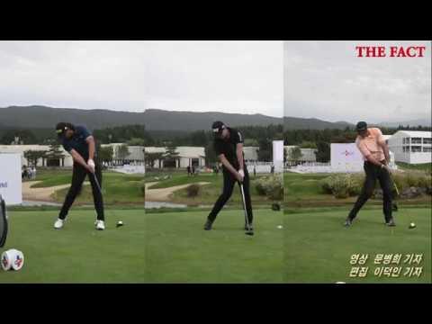 [TF영상] '이것이 프로다'…PGA 선수들의 완벽한 티샷