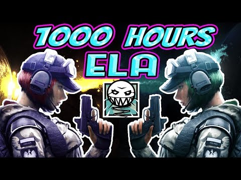 What 1000 HOURS of ELA Experience Looks Like - Rainbow Six Siege