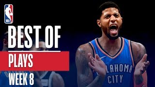 NBA's Best Plays | Week 8