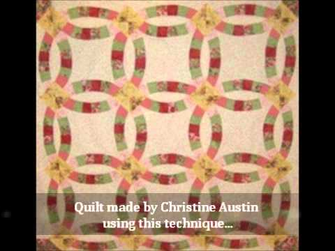 Easy Double Wedding Ring Quilt Pattern Paperback Version