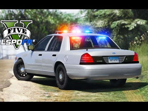 GTA 5 - LSPDFR Ep102 - Connecticut State Police w/ Shootout!!
