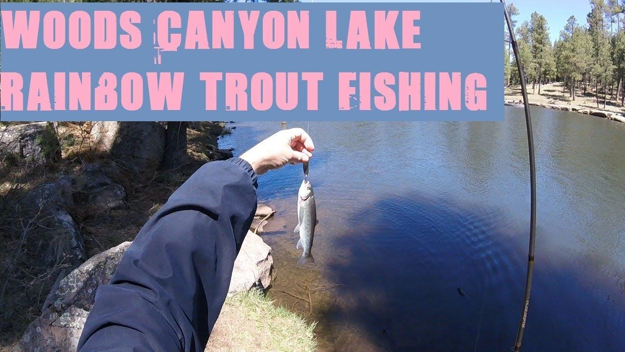 Fishing Woods Canyon Lake In AZ - Map, Fish Species, Lake Info