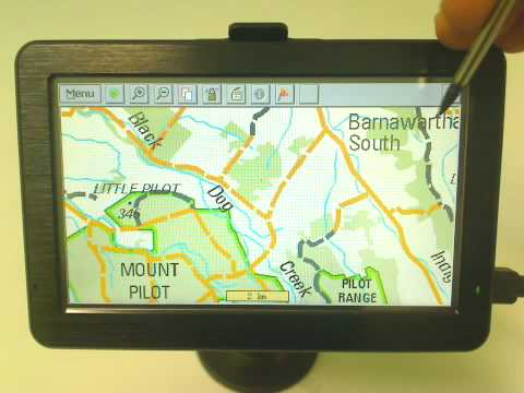 VMS Touring - 4WD Navigation  Searching for a Place, Feature, Park or Track by name