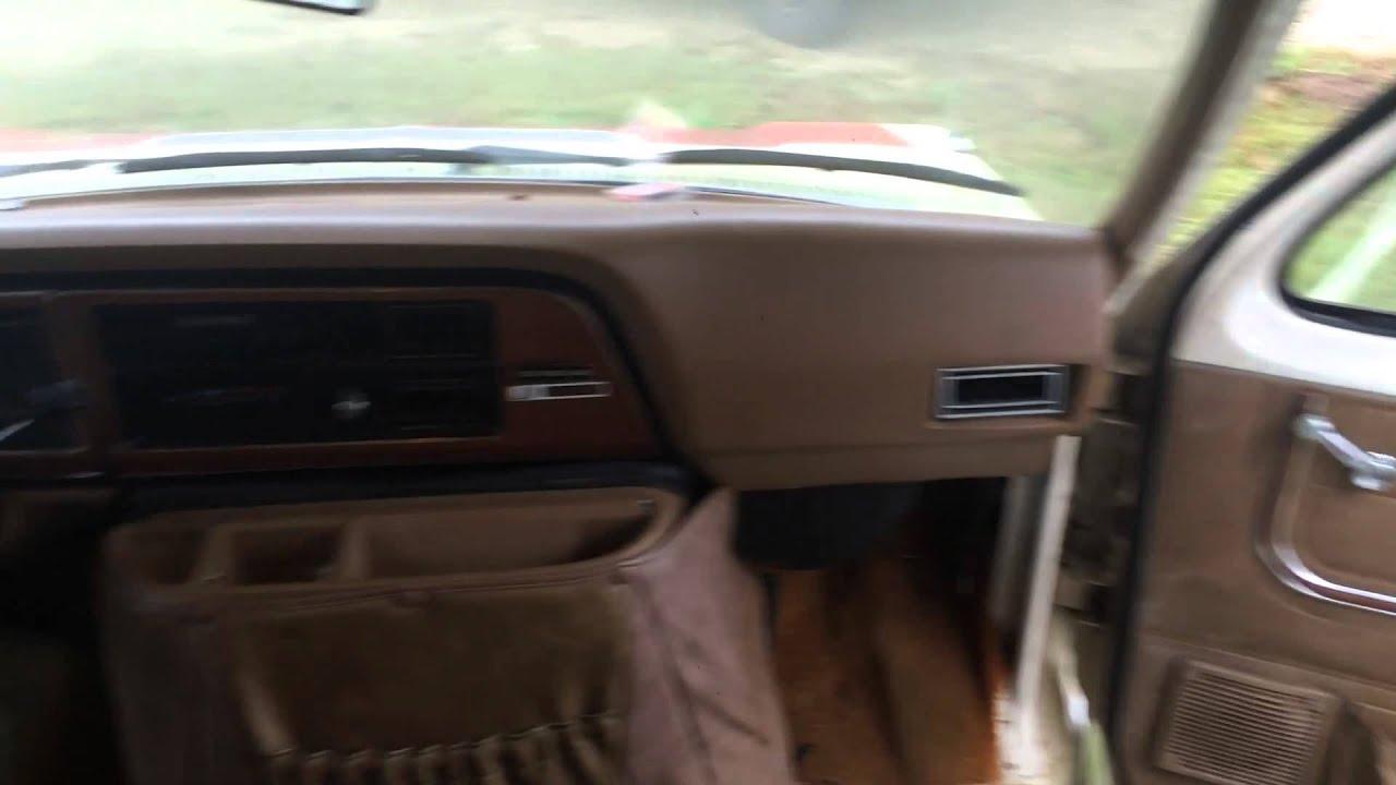 Honey RV interior