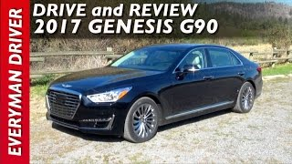 Drive and Review 2017 Genesis G90 on Everyman Driver