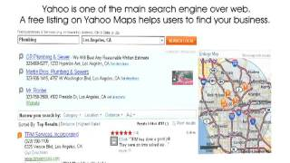 Yahoo Map Listing - Local SEO