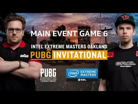 PUBG - GAME 6 - Final - IEM Oakland PUBG Invitational