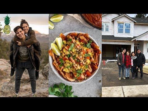 House Hunting + Vegan Diner!   February Vlog