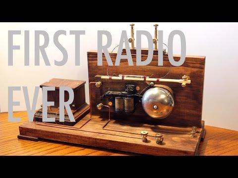Coherer Detector - Wireless Telegraph