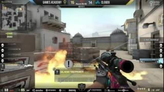 [HIGHLIGHT] Games Academy hen1 clutch ACE vs. Cloud9 - RGN Pro Series Championship