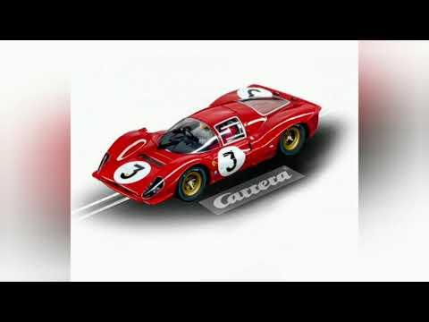 Carrera Slot Cars Ferrari P4 330 Monza 1/24 & Ferrari 458 Gt2 Digital 1/32.