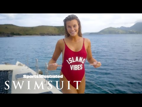 Samantha Hoopes Dives Into Tropical Nevis During Trip |…