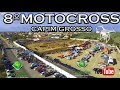 VÍDEO DO DIA / Final de semana em Capim Grosso foi acelerado com o 8º Moto Cross. Confira as imagens