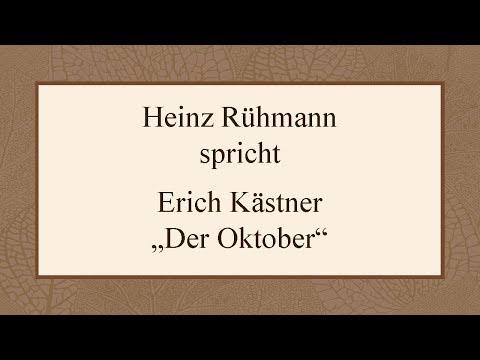 """Erich Kästner """"Der Oktober"""" (1955)"""
