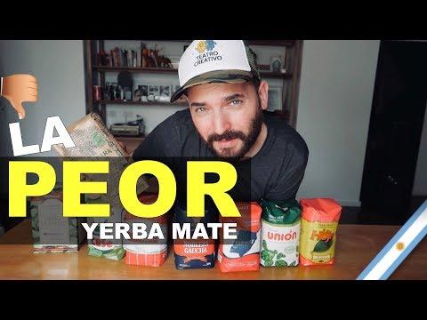 LA PEOR YERBA MATE DE ARGENTINA