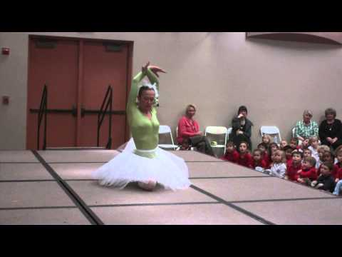 Las Vegas, Nevada Russian ballet dancer school assembly