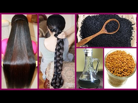 How to Grow Long Thicken Hair With Kalonji Oil   Cure Baldness 100% Works