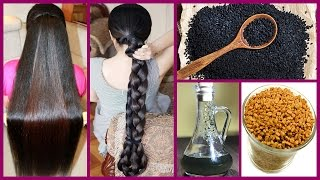 How to Grow Long Thicken Hair With Kalonji Oil | Cure Baldness 100% Works