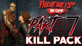 Jason PART 7 Kill Pack! | 3 EXCLUSIVE Kills! | Friday the 13th: the Game