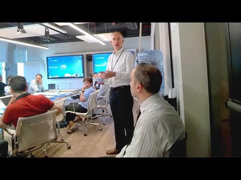 BBN questions Google Apigee VP EMEA Denis Dorval on Block Chain technology #GoogleItalia