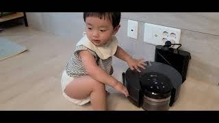 로봇청소기 가만두지 않는 에너자이저 ㅋㅋ