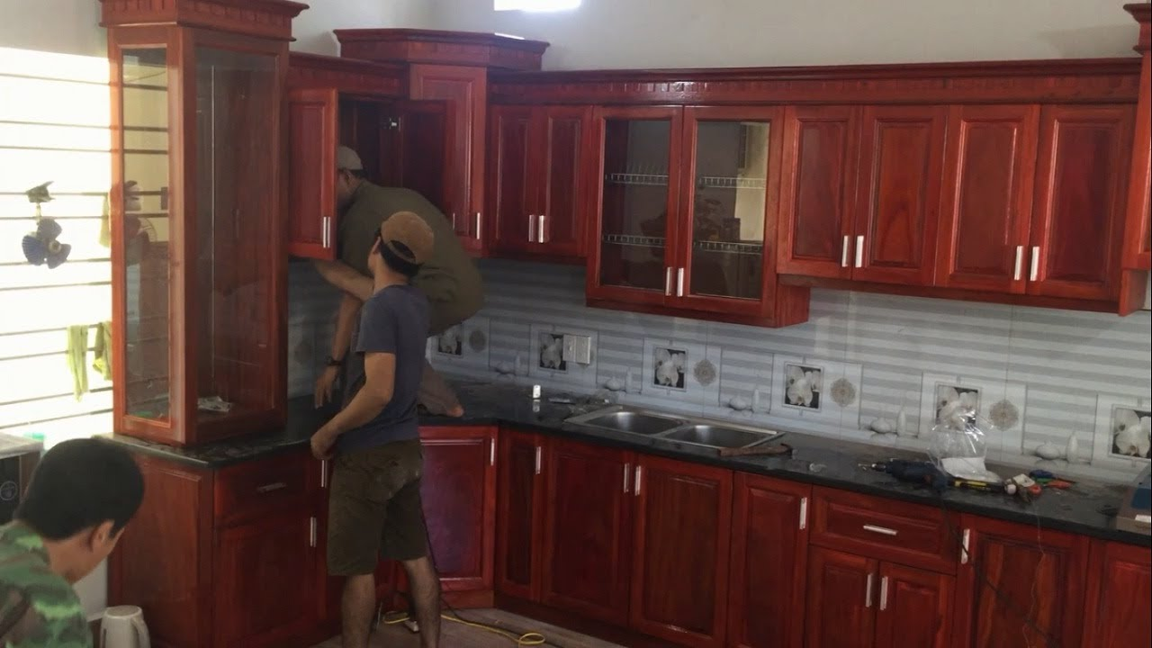 How To Installation Full Kitchen Cabinets Wall Mounted Awesome Woodworking Techniques