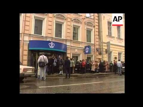 Russia - Zyuganov condemns Yeltsin