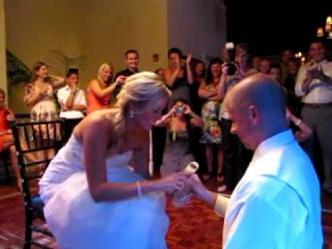 the ultimate smirnoff icing under garter at wedding youtube