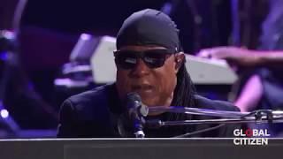 Stevie Wonder & Pharrell Williams -   Get Lucky, Superstition (Live Global Citizen 2017)