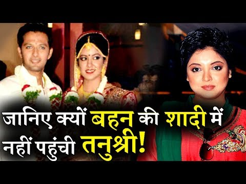 REVEALED: The Real Reason Why Tanushree Dutta Skip Sister Ishita's Wedding!