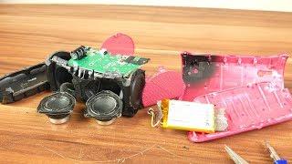 Look inside Logitech X300 portable Speaker - What's Inside?