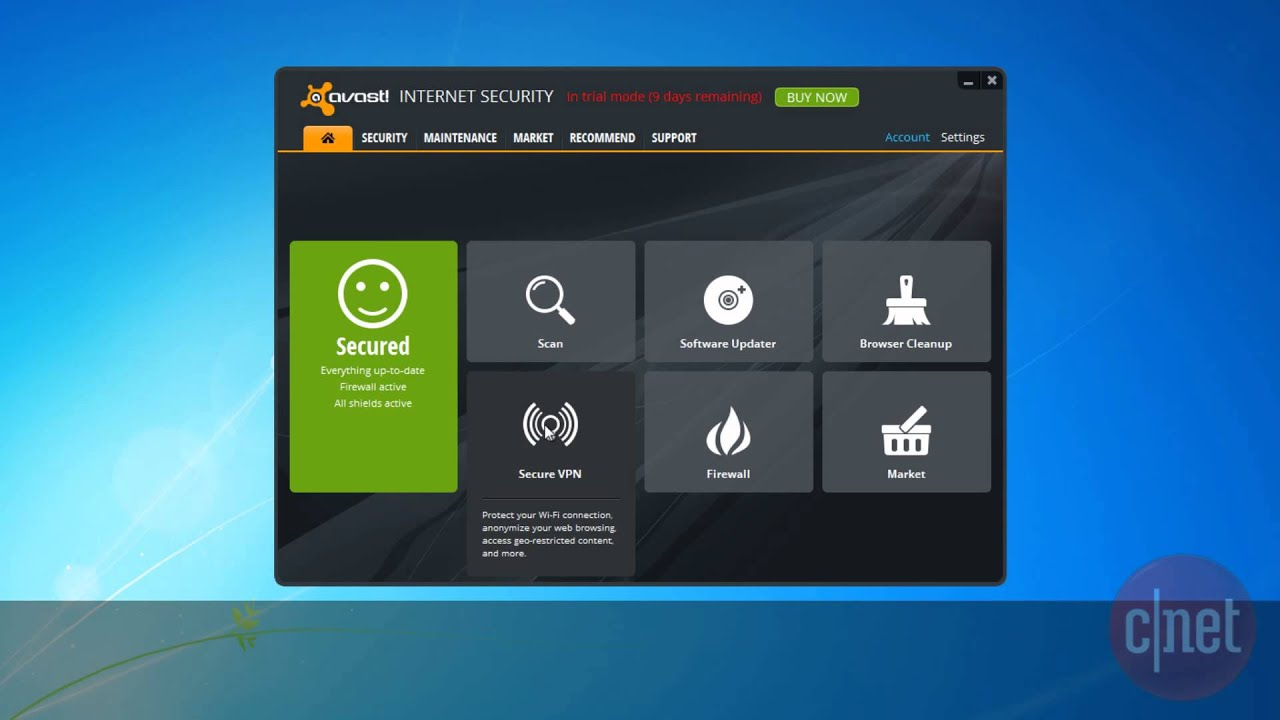 avast online scan for virus