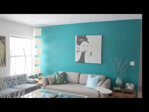 49 Living Room Color Schemes Turquoise