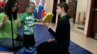 Jr.'s 1st Intensive Therapy utilizing the TheraSuit Method