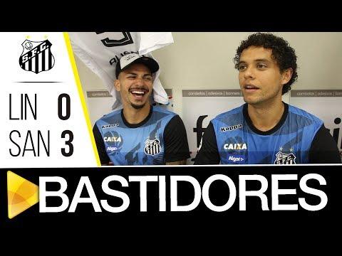 Linense 0 x 3 Santos | BASTIDORES | Paulistão (17/01/18)