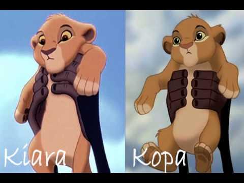 Simba's 2 cubs