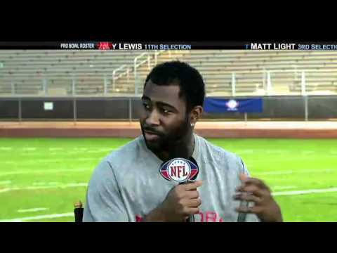 Revis Island At the 2011 Pro Bowl NFL Network Interview