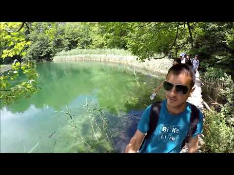 Day trip to Plitvice Lakes in Croatia with MJ, my sister, and my BIL (Plitvicka Jezera)